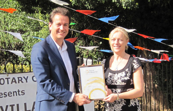 Jenny Rayner and Nick Hurd